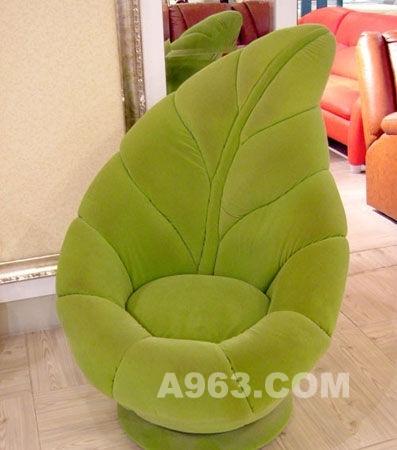 仿树叶的创意沙发