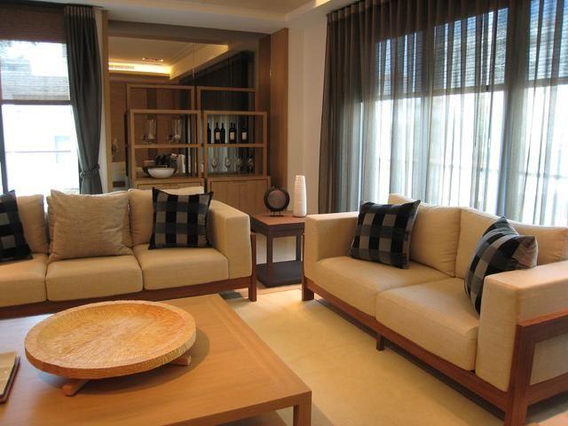 日式沙发图片